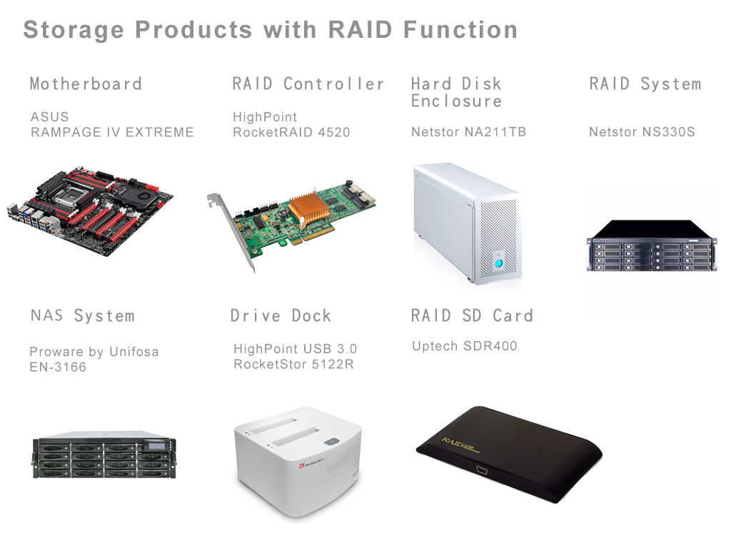 Storage-Product-with-RAID-Function