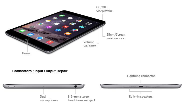 Apple iPad Connector Repair