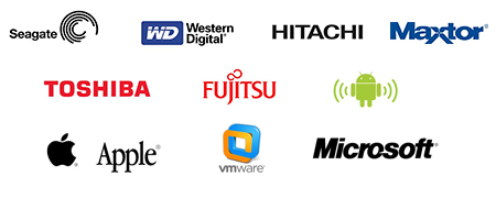 Data Recovery: Seagate, Western Digital (WD), Hitachi, Maxtor, Toshiba, Fujitsu, Apple, Andriod